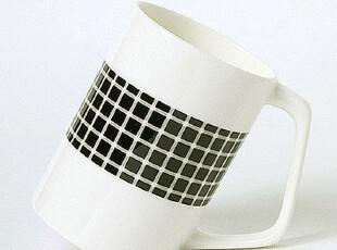 陶瓷骨瓷水杯马克杯子早餐咖啡情侣 手工创意个性时尚黑点杯,马克杯,