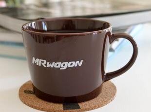 猪猪推荐:咖啡一族的好伴侣——MRwagon棕色咖啡杯/马克杯,马克杯,