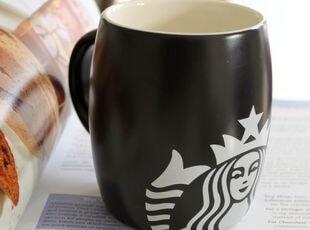 星巴克大肚可爱马克杯/酒桶型咖啡杯 出口 西餐餐具,马克杯,
