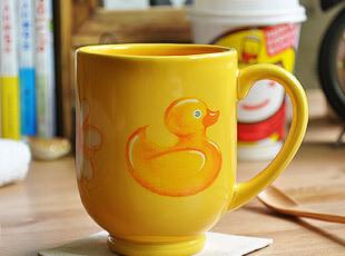 陶瓷 马克杯 水杯 杯子 丑小鸭也可以变天鹅,马克杯,