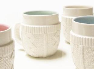美国进口 Mollaspace穿毛衣的杯子|马克杯|咖啡杯Sweater Mug,马克杯,
