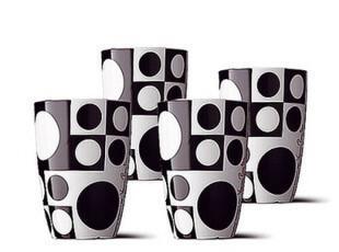丹麦Menu Panton隔热马克杯/水杯/茶杯/咖啡杯 四件套 4506939,马克杯,