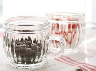 出口尾单ZAKKA杂货 日式复古小桶玻璃杯牛奶杯咖啡杯慕斯杯马克杯,马克杯,
