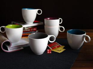 名品瓷器 陶瓷餐具德国ASA 缤纷之家马克杯 水杯 咖啡杯,马克杯,