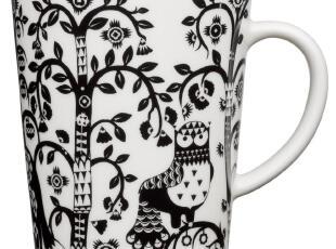 芬兰Iittala Taika 魔幻森林 限量黑 马克杯/茶杯/咖啡杯 I500694,马克杯,