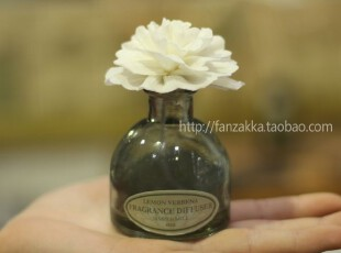 Fan's zakka杂货 香薰挥发介质 进口天然树皮蔷薇花 (6cm),香薰,