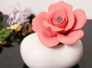L 小瓷花法国无火香薰精油套装礼盒无火香熏120ml室内香水 0.5,香薰用品,
