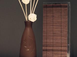 日式无火香薰 竹帘陶瓷瓶 高级单方香薰精油礼盒 迁居礼品,香薰用品,