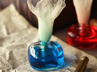 法国 秘密花园香薰系列 无火香薰 复古墨水瓶 八款选,香薰用品,