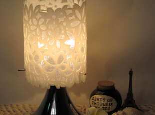 植语堂,插电香薰灯/精油香熏灯送精油灯泡,宜家风小台灯,花之语,香薰用品,