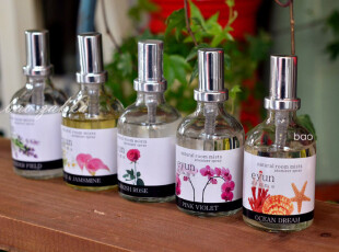 BAO ZAKKA 杂货 法国 植物精油 家居香薰喷雾 55ML 5款可选,香薰用品,