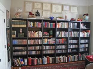 ,折中主义,书房,