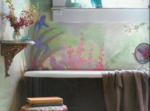 ,热带风情,浴室,