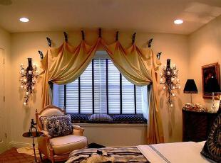 ,传统格调,卧室,