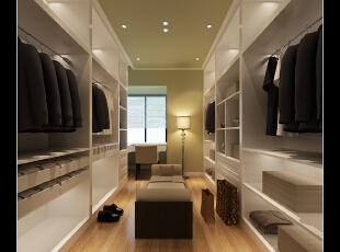 在家里加入这种时尚的衣帽间,瞬间提升了生活的品味与质量,,118平,14万,现代,三居,衣帽间,