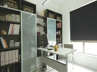 简简单单的书房造型最能让人在工作上或学习上感到轻松。,简约,书房,