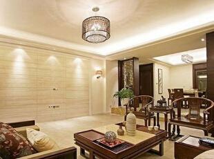 置身在这种朴质的客厅一切是那么舒适,安逸。,中式,客厅,