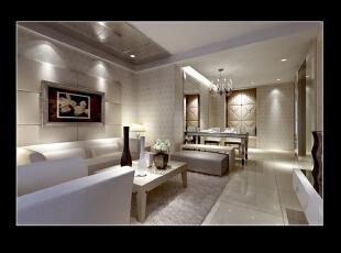 清清淡淡的颜色特别有家的归属感。,135平,16万,现代,四居,客厅,