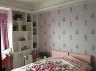这种富有清新活力的卧室搭配最适合家中小孩居住。,169平,19万,现代,公寓,卧室,