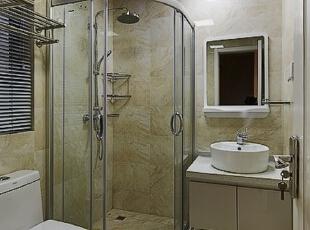 ,109平,12万,现代,三居,浴室,