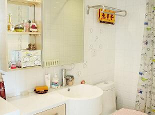 七九八零 loft设计 婚房蜜月房设计,48平,2万,现代,一居,卫生间,