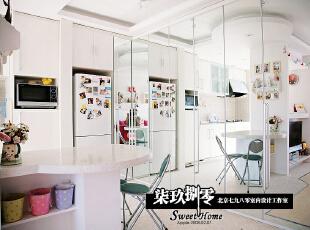 七九八零 别墅豪宅设计 loft设计,48平,2万,现代,一居,客厅,厨房,
