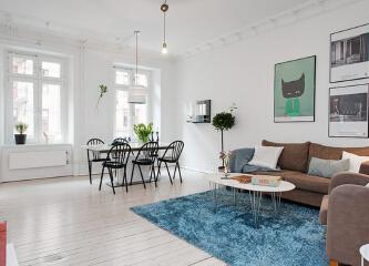107平米华丽北欧设计 立体花园阳台家