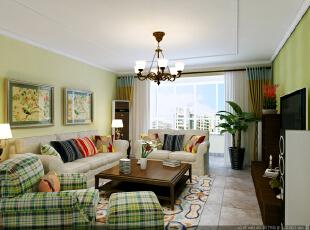 谁空间里有黄2014_而除了浓妆的装扮,设计师在客厅空间中同样运用了\