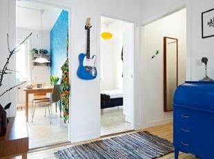 富有设计感的玄关让你进门就有好心情