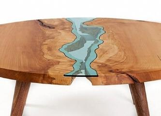 桌子也能亲近自然