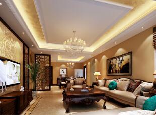 家具老板20万打造龙湖蔚澜香醍150平古典欧式-6系整体家装