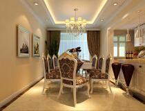 惬意和浪漫16万豪华装修110平米欧式风格三居家