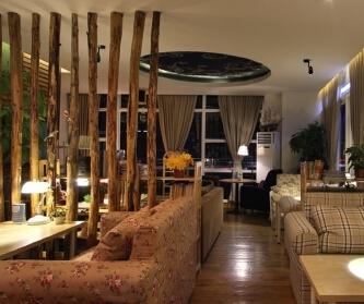 温馨主题咖啡厅设计效果赏...