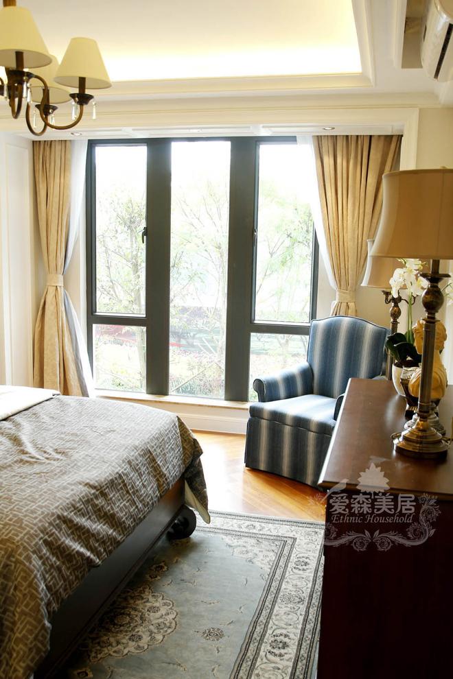 海伦堡-300.0平米别墅美式风格-谷居家居装修设计效果