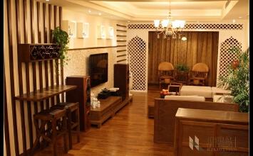 东南亚风情的家(福建146平方)-146平米三居