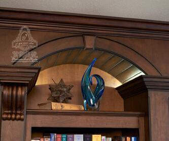 实木定制之书柜