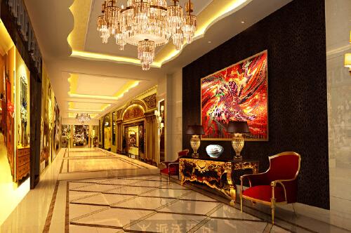 富丽堂皇彰显身价的金色装修效果图