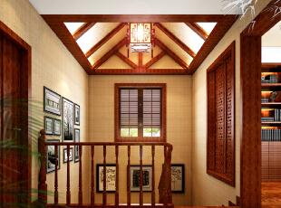 燕西华府别墅-中式别墅-燕西华府别墅360平米中式禅意装修设计案例
