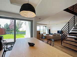山水上院-现代别墅-老房装修山水上院200平米温馨简约现代