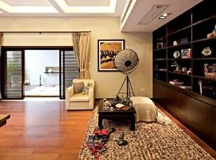 明春苑-中式别墅-明春苑467平米暖黄色中式风格别墅装修效果图