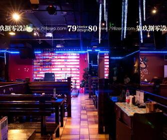 七九八零餐饮空间工装设计...