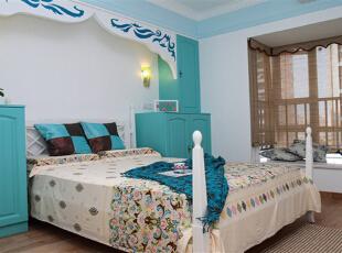 世纪城天鹅湖-地中海三居-三室蓝色海 舒适小清新