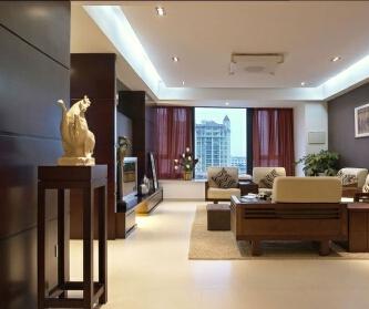 中式风格 东方玫瑰样板房