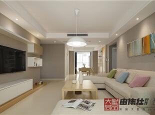 ,现代,三居,10万,148平,客厅,