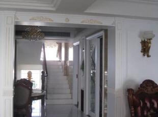 ,300平,80万,新古典,复式,客厅,