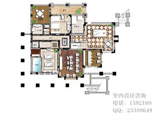 ,别墅,新古典,10.0万,效果图,360.0平,