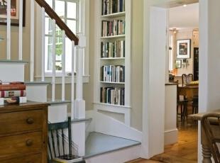 ,楼梯,白色,