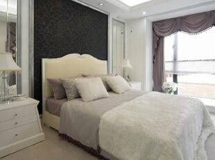 ,卧室,现代,白色,
