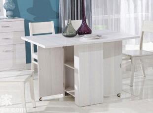 家用可折叠式餐桌,小户型餐厅必备图片
