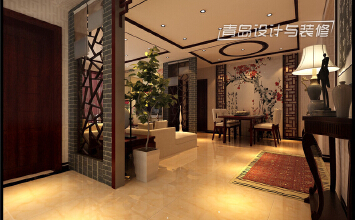 【德馨筑家】123平低调的新中式风格